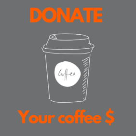 Donate your Coffee $ for a day