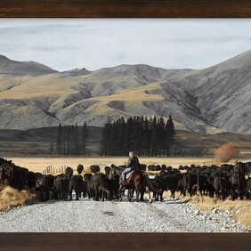 High Country Muster - Rustic Frame