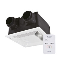 Mitsubishi Lossnay Single Room Ducted Ventilation