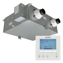 Mitsubishi Electric Lossnay Home Ventilation with Heat Recovery