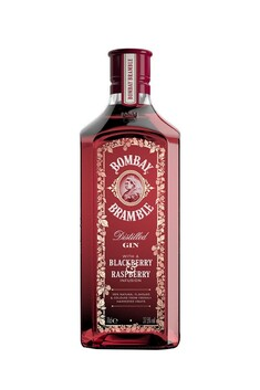 BOMBAY BRAMBLE GIN WITH BLACKBERRY AND RASPBERRY INFUSION 37.5% 700ML