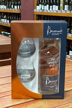 BENROMACH 10 YEAR OLD 2 GLASS GIFT PACK 43% 700ML