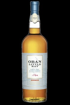 OBAN LITTLE BAY SMALL CASK HIGHLAND SINGLE MALY WHISKY 43%  700ML