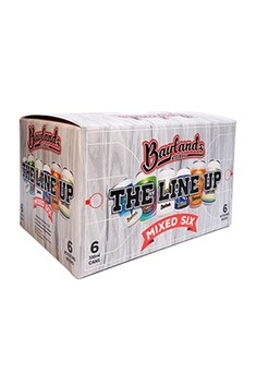 BAYLANDS THE LINE UP MIXED SIX 330ML 6 PACK