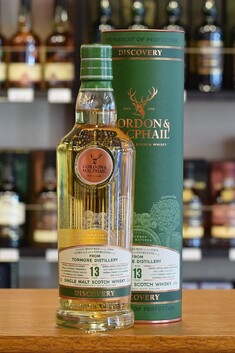 TORMORE 'GORDON AND MACPHAIL' DISCOVERY 13 YEAR OLD SPEYSIDE SINGLE MALT WHISKY 43% 700ML