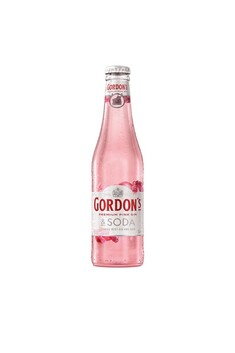 GORDONS PINK GIN AND SODA 4PACK