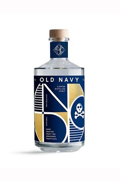 THE NATIONAL DISTILLERY OLD NAVY NZ GIN 58% 700ML