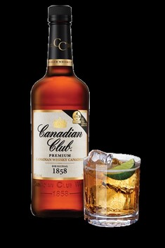CANADIAN CLUB WHISKY 1 LTR