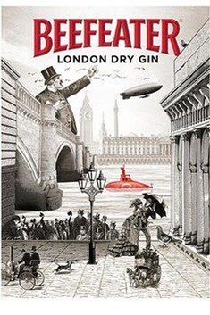 BEEFEATER GIN 1LTR 40%