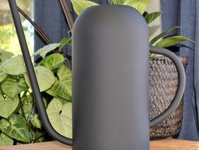 Mat Black Colour Watering Can