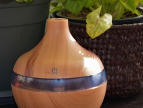 Copperlilynz Timber Look Humidifier