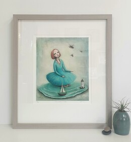 The Wisdom of Bees / Framed Print