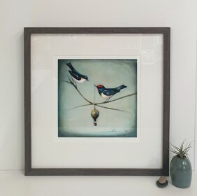 Come fly with me / Framed Print
