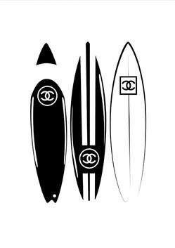 Coco Surfboards canvas 56x86cm