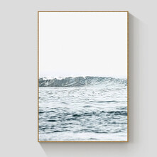 Perfect Wave framed canvas 90x120cm