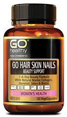 Go Healthy Hair Skin Nail Beauty Support 50 Capsules