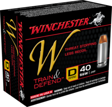 Winchester 40S&W 180gr JHP Personal Protection