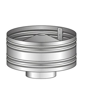Stainless Steel Rain Hat / Anti Down Draught Cowl