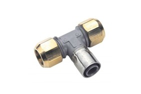 BUTELINE INLINE COPPER TO PB PIPE TEE 15MM
