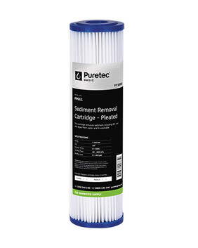 PP SERIES STANDARD POLY PLEATED FILTER CARTRIDGE