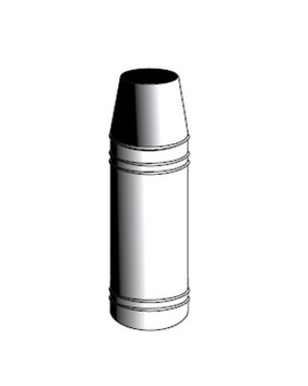 Stainless Steel Rocket Cowl for Flue System
