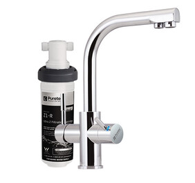 Puretec Z1-T3 Quick Twist Undersink Water Filter System with LED mixer tap