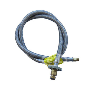 """POL Pigtail with 1/4"""" BSPT 1300mm HO1615"""