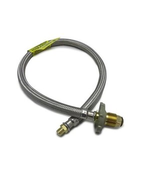 """POL PIGTAIL WITH 1/4"""" BSPT 760MM"""