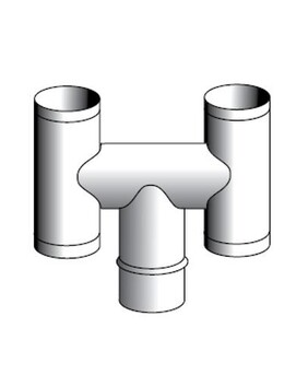 Stainless Steel H-Top For Flue System