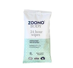 Zoono 24 Hour Antimicrobial Wipes
