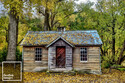 """Arrowtown Old Gold Store Autumn - 12"""" x 18"""""""