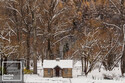 """Arrowtown Old Gold Store Winter - 12"""" x 18"""""""