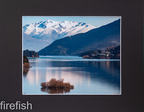 Frankton Arm Scene Queenstown with Mat