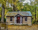 """Arrowtown Old Gold Store Autumn - 16"""" x 20"""""""