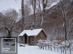 Winter at the Arrowtown Gold Store