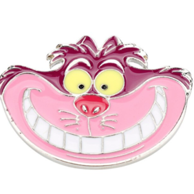 Brooch - Cheshire Cat