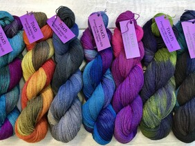 Touch Yarns Hand Dyed Possum - 8 Ply