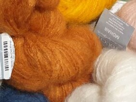 Touch Yarns - Brushed Mohair - 12 Ply