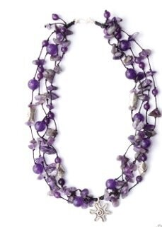 Stone Orchard Necklace