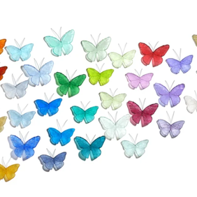 Set of 36 Butterflies