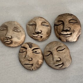 Pottery Faces