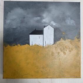 House - Oil on Canvas