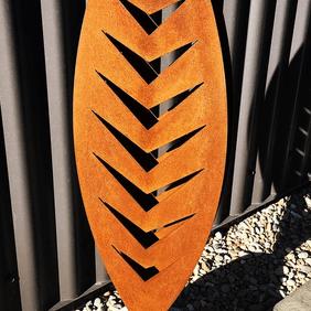 3D Corten Sculpture in Stone