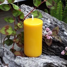 Beeswax Pillar Candles - Plain