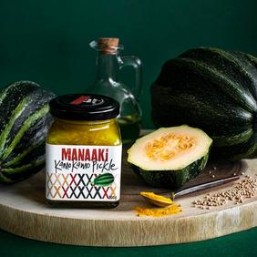 Manaaki Kamokamo Pickle