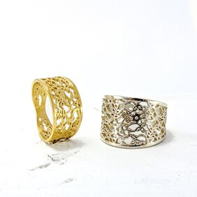 Lace Ring Taper (Large)