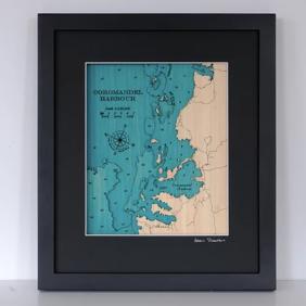 Map of Coromandel Harbour - Small