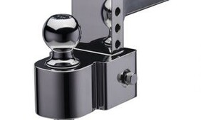 """4"""" FLASH™ – E Series Hitch with 50 mm and 70 mm Ball"""