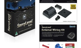 SavvyLevel External mounted remote vehicle levelling system