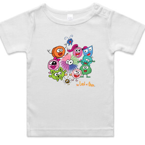 The Land of Ghee (baby/toddler) Tee's - CRITTERS